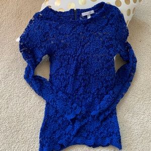 Beautiful lace long sleeved shirt